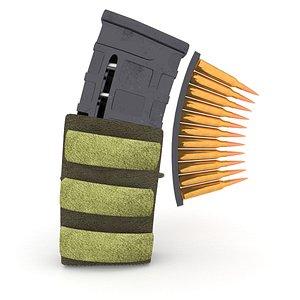 magazine pouch bullets model