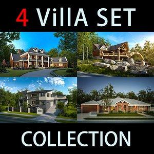 villa exterior 3D