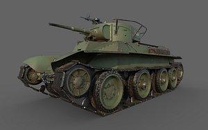 BT-5 Comander 3D model