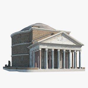 3D pantheon rome
