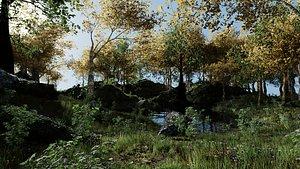 Forest Scene 2 model