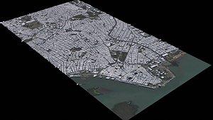 Porto Alegre - Brazil 3D model