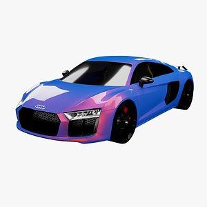 3D 3D Audi R8 Model