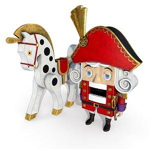 3D Nutcracker Horse model