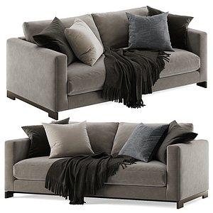 3D Molteni e C Reversi sofa 2 seats