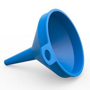 3D plastic funnel