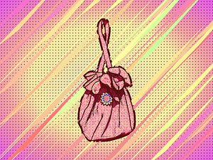 Money Pouch, Purse, or Reticule or Handbag