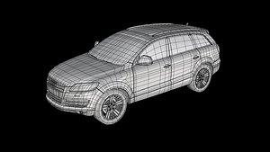 3D Audi Q7