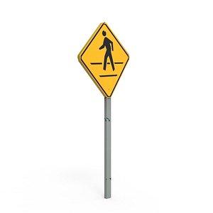 sign board 3D model