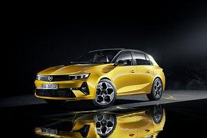 3D Opel Astra 2022