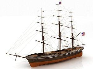3D Flying Ship
