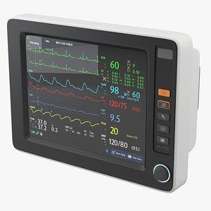 3D patient monitor