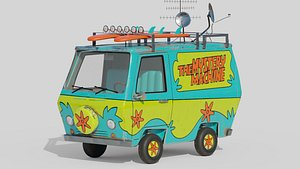 3D The Mystery Machine