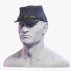 3D model Civil War Kepi