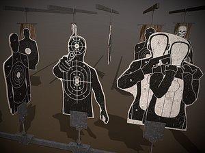 3D shooting targets pack