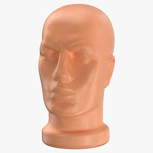mannequin head 3D