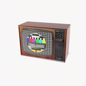 tv old delta 3D model