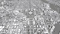 Cityscape Washington USA