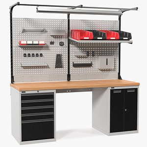 multipurpose workbench work bench 3D model