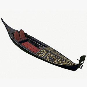 3D gondola model