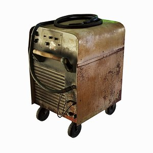 3D Old Rusted Welding Machine