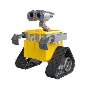 3D robot droid