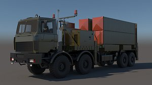 missile volat mzkt-7401 chassis 3D