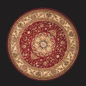 Medieval Round Tapestry Four 3D