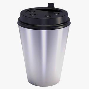 cofee cup mockup 3D model