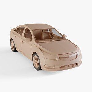 3D model chevrolet cruze