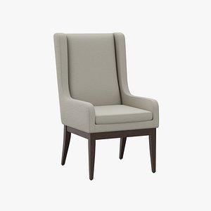 3D model chair decoration architecture