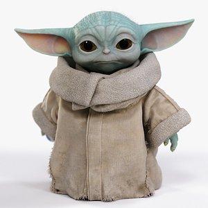 grogu baby yoda 3D model