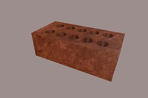 architecture wall 3D model