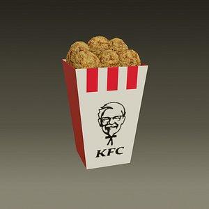 KFC-KentuckyFriedChicken-medio -2021 3D
