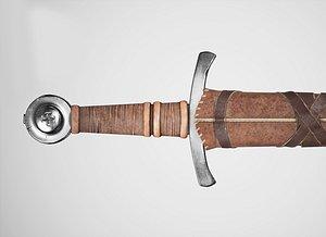 aaa sword hand type 3D model