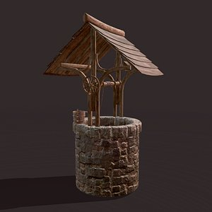 Medieval Well 3D