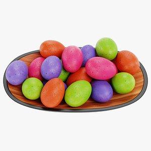 3D model easter eggs bowl