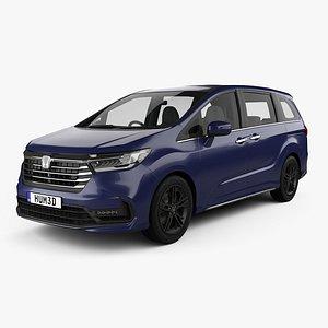 Honda Odyssey e-HEV Absolute EX 2021 3D model