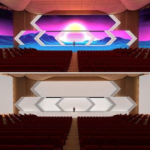 room stage 3D model