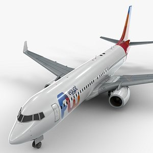 3D model Boeing 737-8 MAX FLY EGYPT L1338