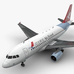 AirbusA319-100AIR TRAVELL1407 3D model