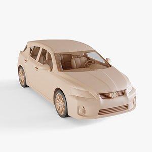 2011 Lexus CT 200h model