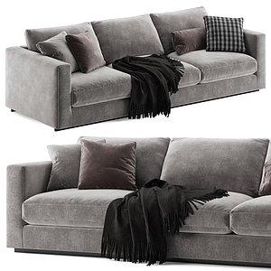 Molteni e C Reversi 14 sofa 3D model