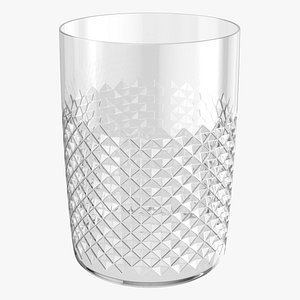 Water Glass 02 3D model