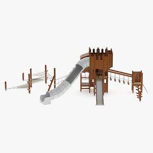 3D Lappset Castle Laurentius