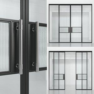 3D partition glass