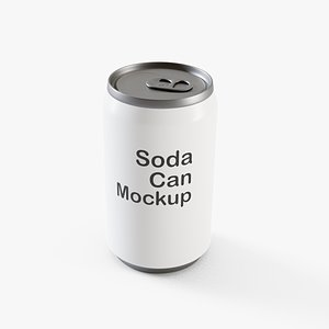 Soda Can 4 3D