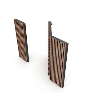 3D garden door