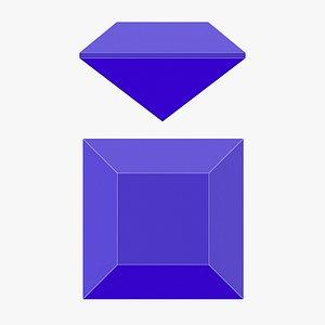 3D Table Gemstone - 3D Printable