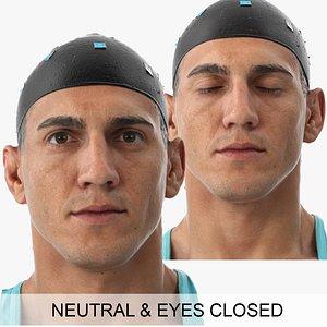 mike clean scans eyes 3D model